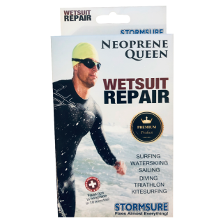 Neoprene queen wetsuit repair adhesive kit with patches 30g