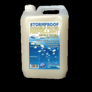 stormsure stormproof durable water repellent spray on waterproofer 5 litre jerry can bottle wholesale