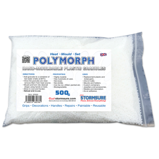 Polymorph Hand-Mouldable Plastic Granules 500g