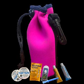 Outdoor Clothing Maintenance Repair Kit in Bag