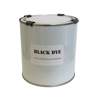 black dye for stormsure adhesives 1 litre tin