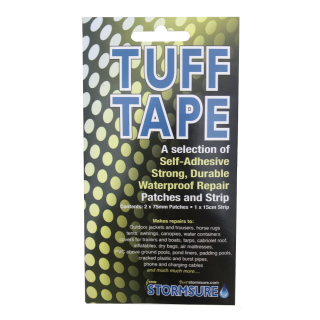 TUFF Tape Self Adhesive Waterproof Assorted Patches and strip