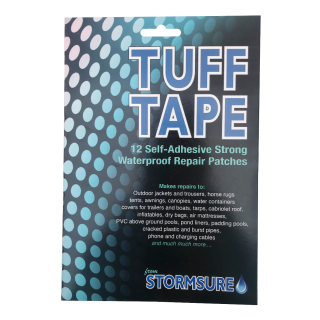 TUFF Tape Self Adhesive Waterproof Assorted Patch Set Large