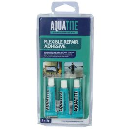 Aquatite Flexible Repair Adhesive 3 x 5g Tubes