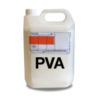 stormsure pva white glue 5l jerry can arts crafts non toxic safe adhesive
