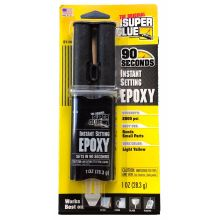 Super Glue® 90 Second Instant Setting Epoxy 1 oz syringe