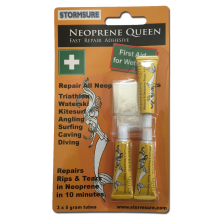 Neoprene Queen Wetsuit Repair Adhesive 3x5g blister card