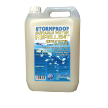 stormsure stormproof durable water repellent spray on waterproofer 5 litre jerry can bottle wholesale