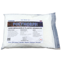 Polymorph Hand Mouldable Plastic Granules 1kg