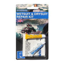 stormsure wetsuit and drysuit repair kit blistered front