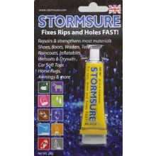 stormsure flexible repair adhesive 28g blister black
