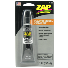 ZAP Plastic Model Cement 29.5ml PT104