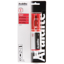 Araldite Rapid 5 Minute Epoxy Resin 24ml Syringe