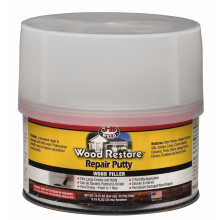 JB Weld Wood Restore Repair Putty Filler Tin 40003 354ml / 12 Fl. Oz.