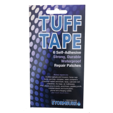 tuff tape patch set size and shape diagram