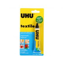 uhu textile solvent free fabric adhesive 19ml
